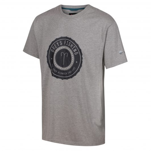 Greys Heritage T-Shirt – Grey Marl