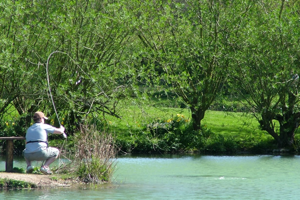fly fishery in hampshire