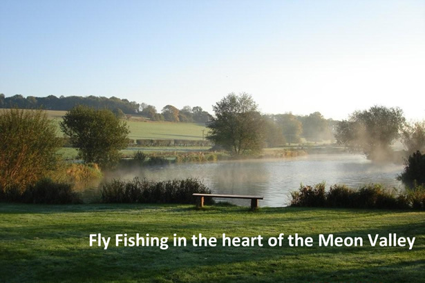 fly fishing in the heart of the meon valley